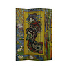 Fine Asianliving Kamerscherm Scheidingswand 3 panelen De Courtisane naar Eisen van Gogh Inspiratie Japan L120xH180cm