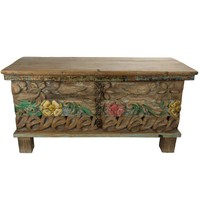 Wooden Indian Cabinet 88x36x44cm Handmade in India