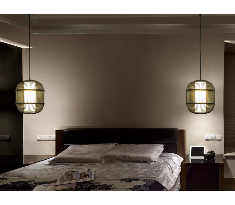 Bamboe Hanglamp Handgemaakt - Dylan