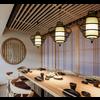 Fine Asianliving Plafonnier Luminaire Suspendu Bambou Abat-Jour Fait Main - Julian
