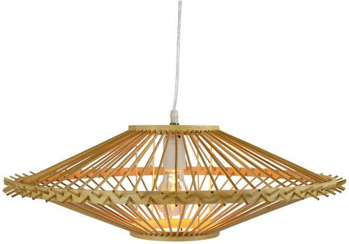 Fine Asianliving Bamboo Pendant Light Lampshade Handmade - Zoe