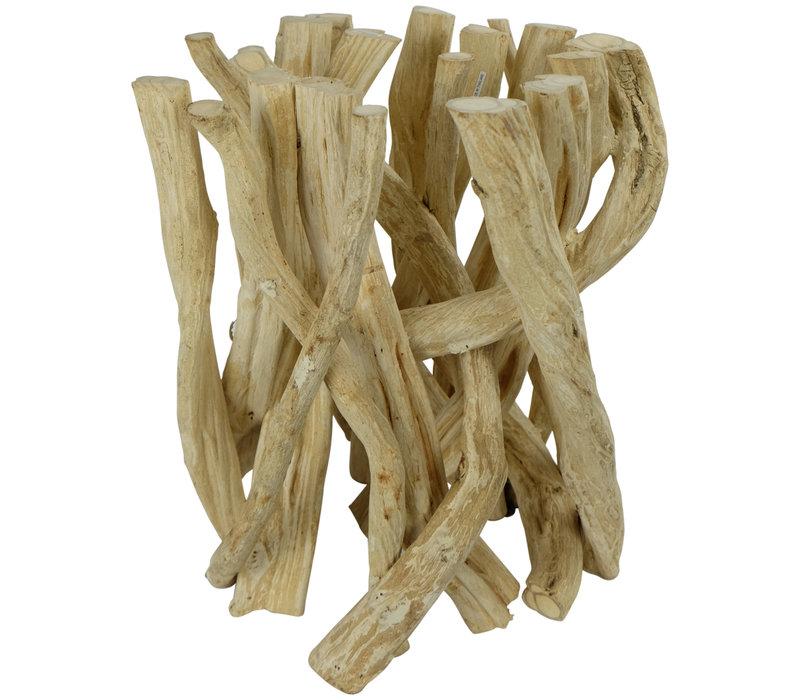 Couchtisch Holz Lianenzweige B35xH45cm