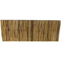 Wooden Wall Coat Rack Massief Mango Wood Handmade Thailand W80xH30xD5cm