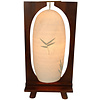Fine Asianliving Lampada da Tavolo in Legno e Filo di Cotone Fatto a Mano Luca 27x15x55cm