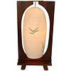 Fine Asianliving Tischlampe Holz und Baumwollfaden Handgefertigt Leicht 27x15x55cm