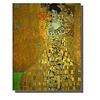 Fine Asianliving Tableau sur Toile Gustav Klimt Portrait d'Adele Bloch-Bauer Giclée et Embelli à la Main L70xH90cm