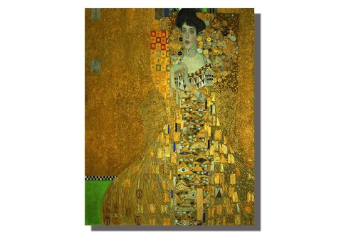 Fine Asianliving Wall Art Canvas Print 70x90cm Adele Block-Bauer Gustav Klimt Hand Embellished Giclee Handmade