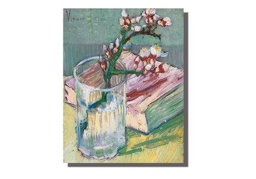 Fine Asianliving Schilderij Wall Art Canvas Print 70x90cm Bloesems van Gogh Handgemaakt Giclee