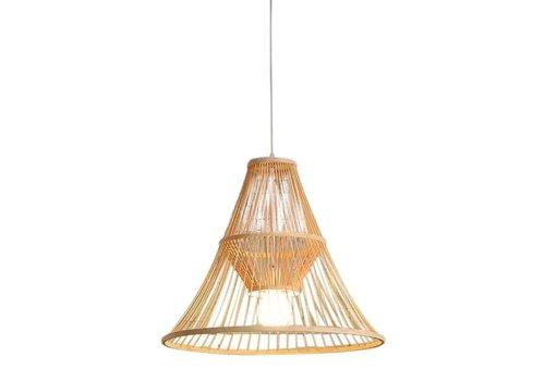 Fine Asianliving Lámpara de Techo Colgante de Bambú Hecha a Mano - Maycee