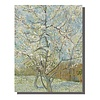 Fine Asianliving Wall Art Canvas Print 70x90cm Peach Tree van Gogh Hand Embellished Giclee Handmade