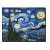Fine Asianliving Wall Art Canvas Print 70x90cm Starry Night van Gogh Hand Embellished Giclee Handmade
