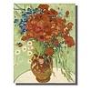Fine Asianliving Wall Art Canvas Print 70x90cm Still Life Van Gogh Hand Embellished Giclee Handmade