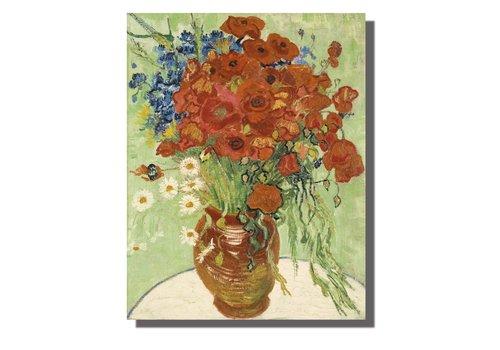 Fine Asianliving Tableau sur Toile Vincent van Gogh Nature Morte Giclée et Embelli à la Main L70xH90cm