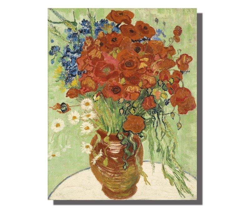 Tableau sur Toile Vincent van Gogh Nature Morte Giclée et Embelli à la Main L70xH90cm