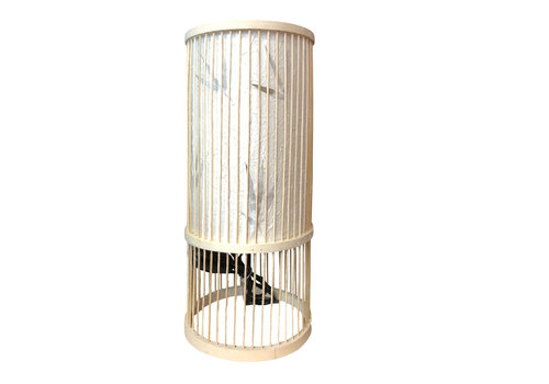 Fine Asianliving Table Lamp Bamboo Handmade Designed (M size) – Ella