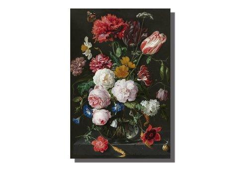 Fine Asianliving Schilderij Wall Art Canvas Print 80x120cm  Stilleven Jan Davidz van Heem Handgemaakt Giclee