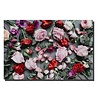 Fine Asianliving Wall Art Canvas Print 120x80cm Roses Garden Hand Embellished Giclee Handmade