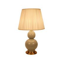 Lámpara de Mesa de Porcelana China Menta