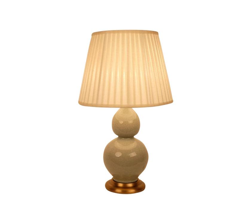 Oosterse Tafellamp Porselein Craquelle Mint