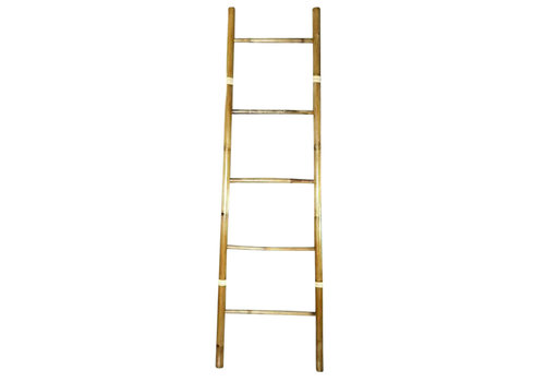 Fine Asianliving Bamboo Ladder 45x150cm Handmade in Thailand