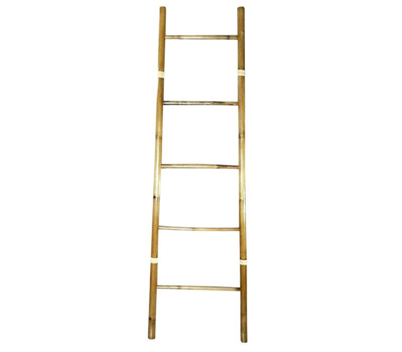 Bamboe Ladder Naturel 45x150cm Handgemaakt in Thailand