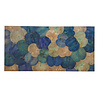 Fine Asianliving Real Lotus Painting 100x180cm Sustainable Wall Art Sapphire Blue