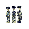 Fine Asianliving Chinese Empress Porcelain Figurine Three Concubines Qing Dynasty Statues Handmade Set/3