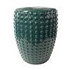 Fine Asianliving Sgabello in Ceramica Cinese Fatto a Mano D33xA46cm