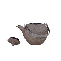 Oriental Tea Pot Cast Iron Handmade in Vietnam
