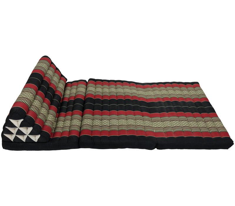 Cuscino Triangolare con Materasso Piegato in 3 80x190cm XXXL