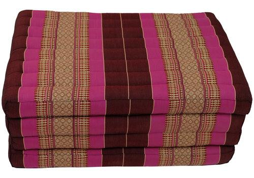 Fine Asianliving Colchón Tailandés de 4 Pliegues Plegable 80x200cm XXXL