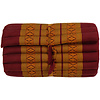 Fine Asianliving Thaise Mat Oprolbaar Matras 190x50x4.5cm Oranje