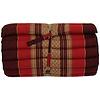Fine Asianliving Thai Mat Rollable Matress 190x50x4.5cm Mat Cushion Bordeaux Red