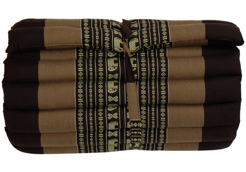 Fine Asianliving Thaimatte Rollbar Kapokfüllung 190x50x4.5cm