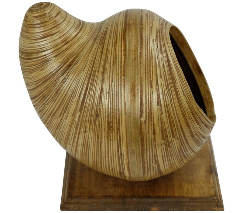 Bamboo Ornament 8 inch Handmade in Thailand