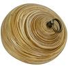 Fine Asianliving Pot Décoratif en Bambou avec Couvercle Natural 8 puces Fait Main en Thaïlande