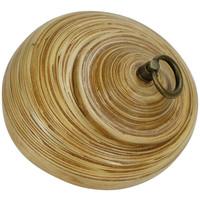 Pot Décoratif en Bambou avec Couvercle Natural 8 puces Fait Main en Thaïlande