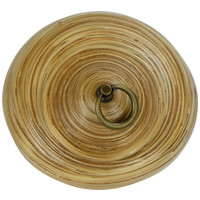 Storage Pot with Lid Bamboo 8 inch Handmade in Thailand Natural