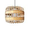 Fine Asianliving Lámpara de Techo Colgante de Bambú Hecha a Mano - Belinda