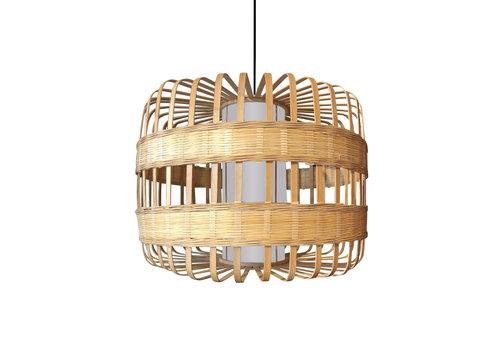 Fine Asianliving Ceiling Light Pendant Lighting Bamboo Handmade - Belinda