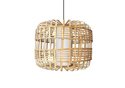 Fine Asianliving Ceiling Light Pendant Lighting Bamboo Handmade - Brittany