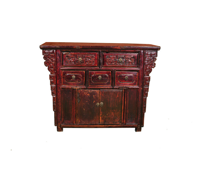 Antique Chinese Cabinet W113xD42xH86cm