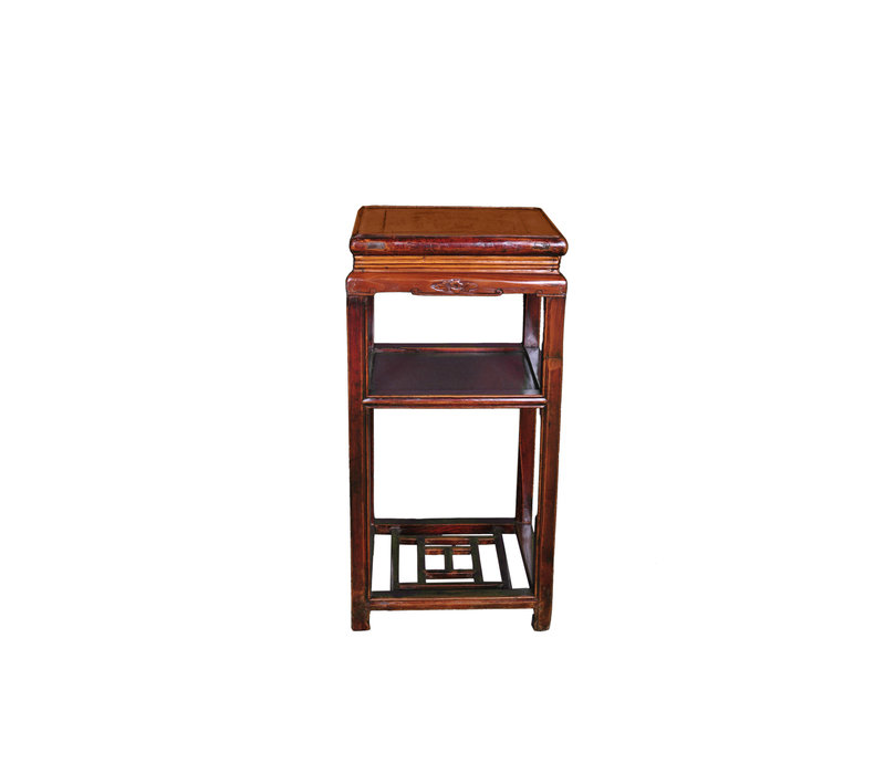 Antique Chinese Plant Stand W39xD39xH76cm