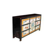Antique Chinese Chest of Drawers Handpainted Luck W160xD40xH86cm