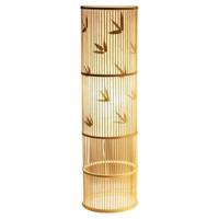 Floor Standing Lamp Bamboo Handmade - Sylvie