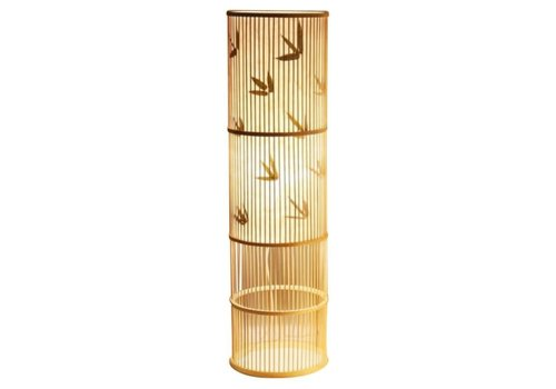 Fine Asianliving Floor Standing Lamp Bamboo Handmade - Sylvie