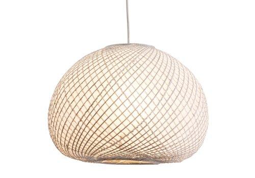 Fine Asianliving Bamboe Hanglamp Lamp Met Rijstpapier - Kyoto D40xH28cm