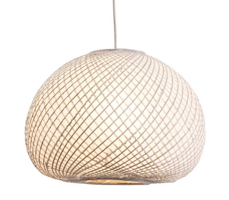 Pendant Lamp Bamboo with Rice Paper - Kyoto D40xH28cm
