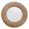 Fine Asianliving Mirror Buri Frame Handweaved D70x6cm Thick