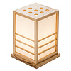 Fine Asianliving Japanse Lamp Shoji Rijstpapier Hout Miyazaki Naturel B20xD20xH28cm